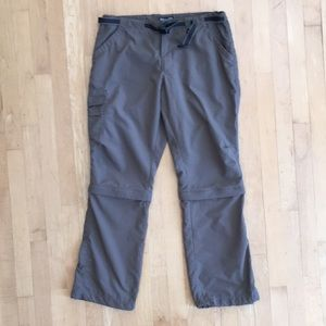 2/$20 REI Zip-off convertible hiking pants sz 12